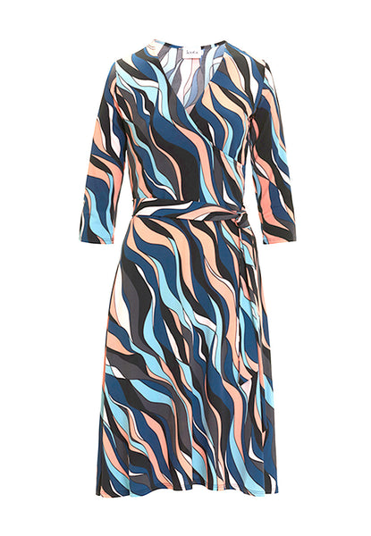 Perfect Wrap Dress in Riviera