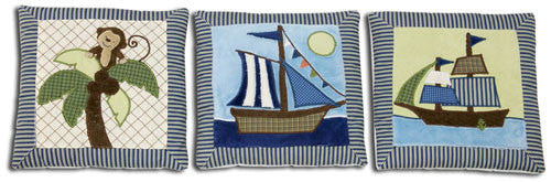 Ahoy Mate 3pc. Wall Hanging