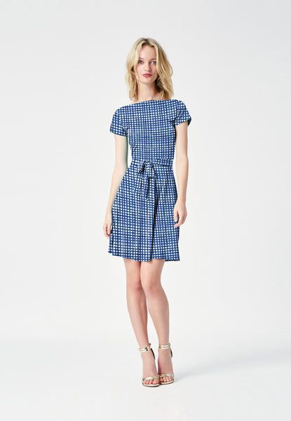 Ilana Mini Dress in Summer Plaid