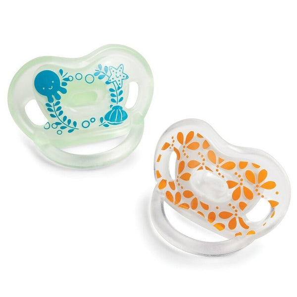 Born Free Bliss Orthodontic Pacifier 2pk, Neutral
