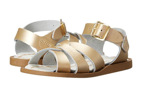 Salt Water Sandals  Gold
