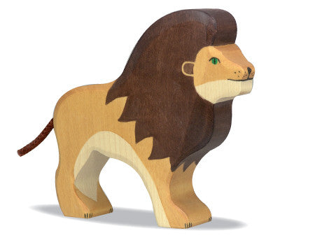 Wooden Animal  Lion