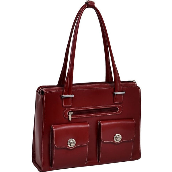 "McKleinUSA 15.4"" Leather Fly-Through™ Checkpoint-Friendly Ladies' Laptop Briefcase"