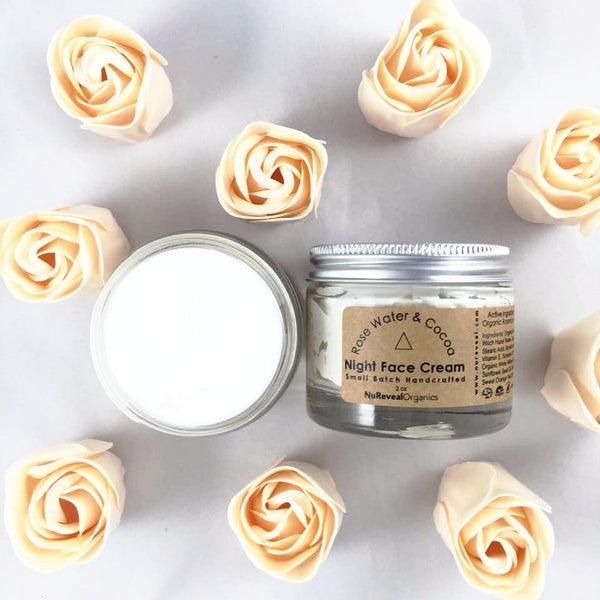 ROSE & COCOA BUTTER  △ NIGHT FACE CREAM