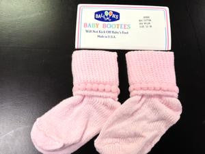 Balloons Bootie Socks, One Pair