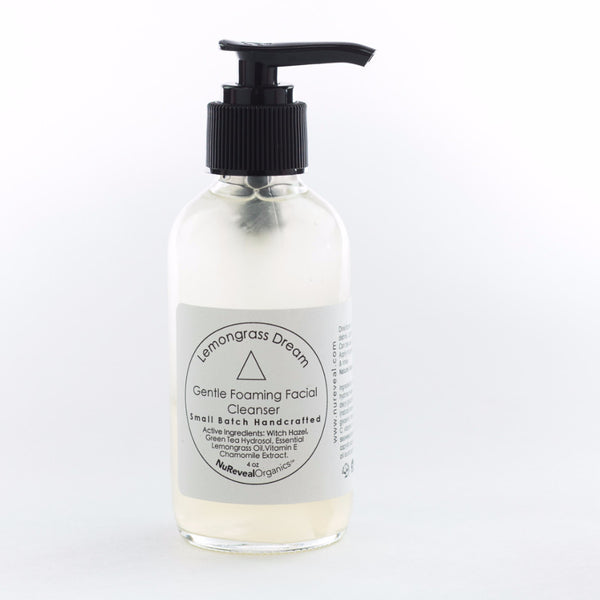LEMONGRASS DREAM △ GENTLE FOAMING FACIAL CLEANSER