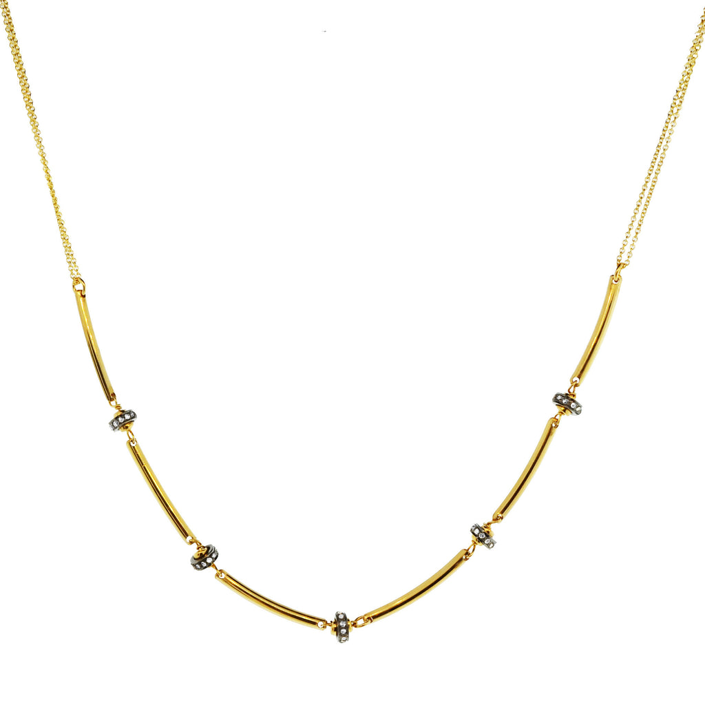 The Diamond Link Necklace