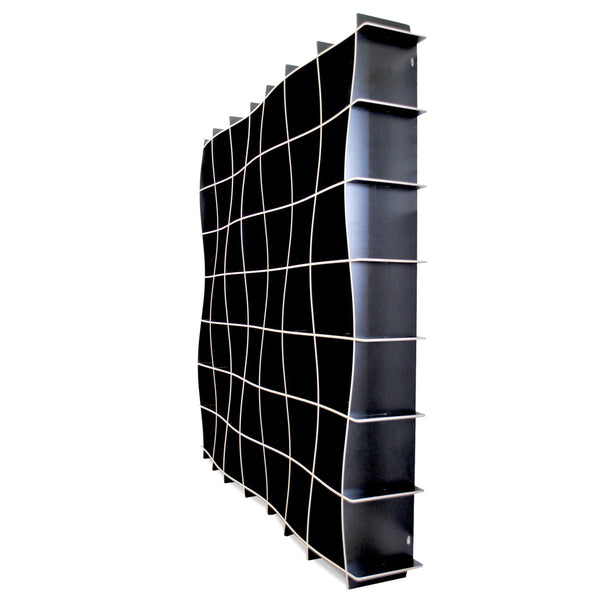 49 Cubby Large Wave Bookcase