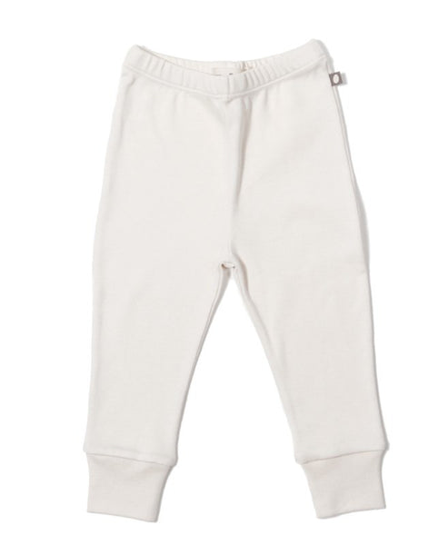 Organic Pima Cotton Leggings  White