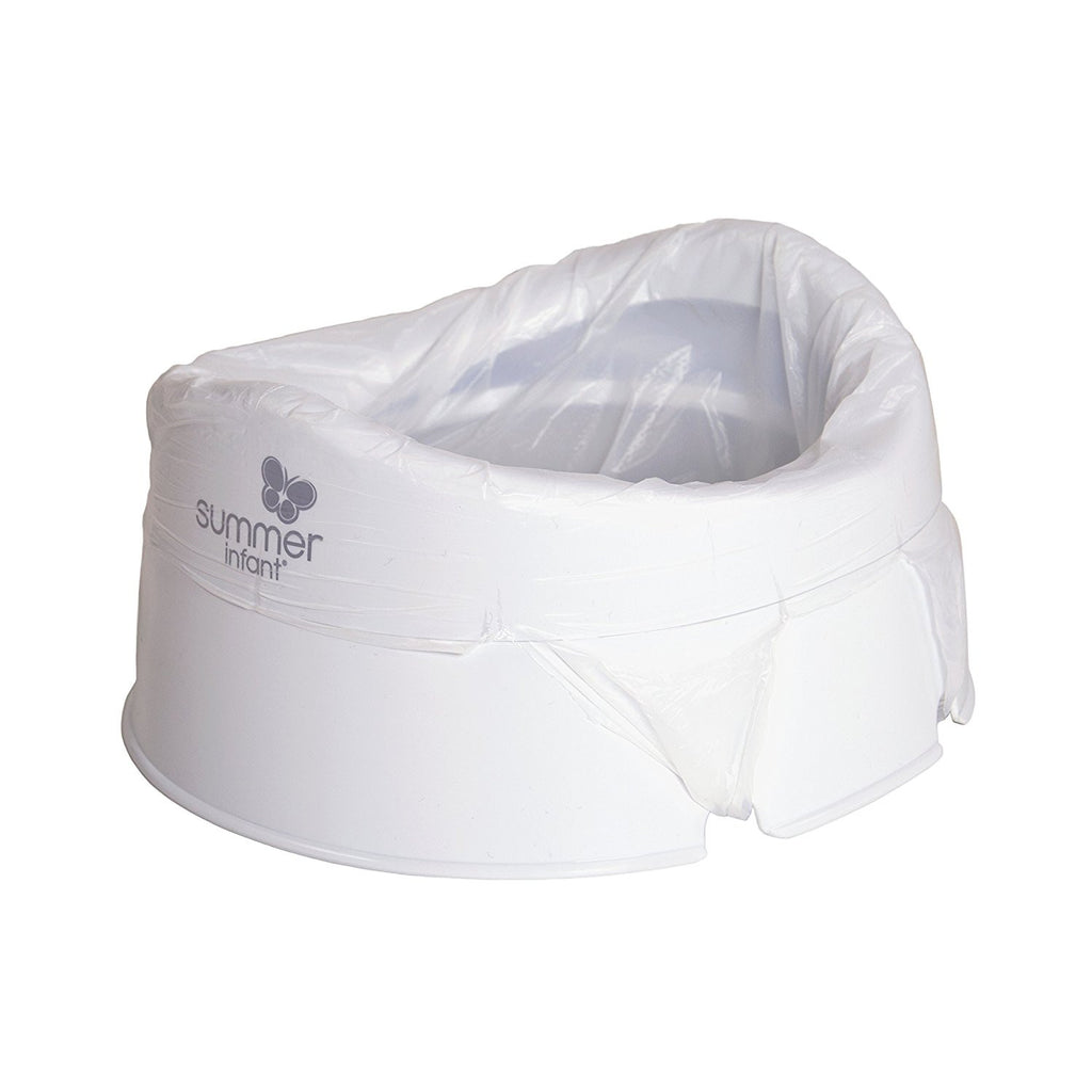 Summer Infant Time-to-Go Travel Potty - White