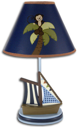 Ahoy Mate Lamp & Shade
