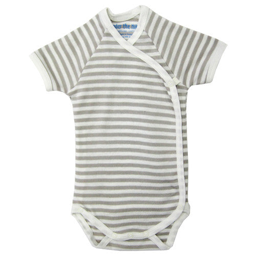 Nature's Nursery Short Sleeve Side Snap Babybody