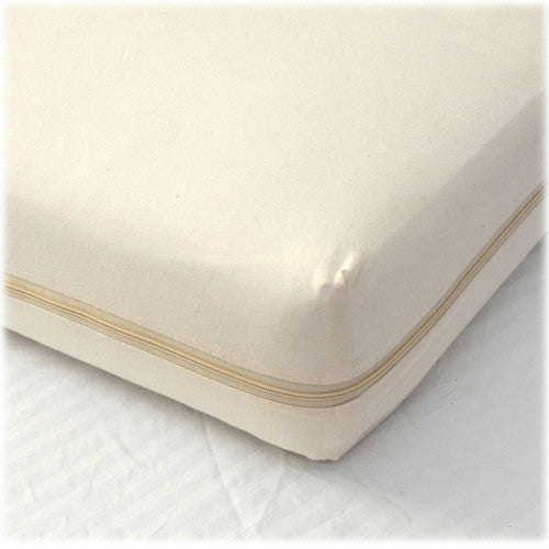All-in-One Organic Crib Mattress Coverlet