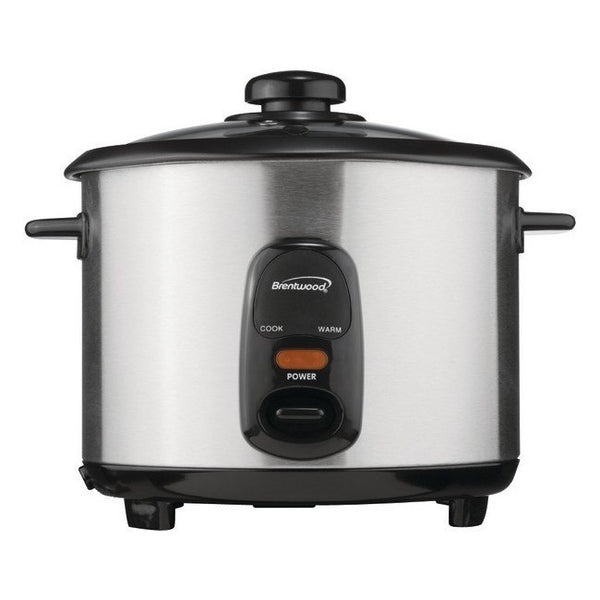 Brentwood 1.5 Liter Rice Cooker Stainless Steel