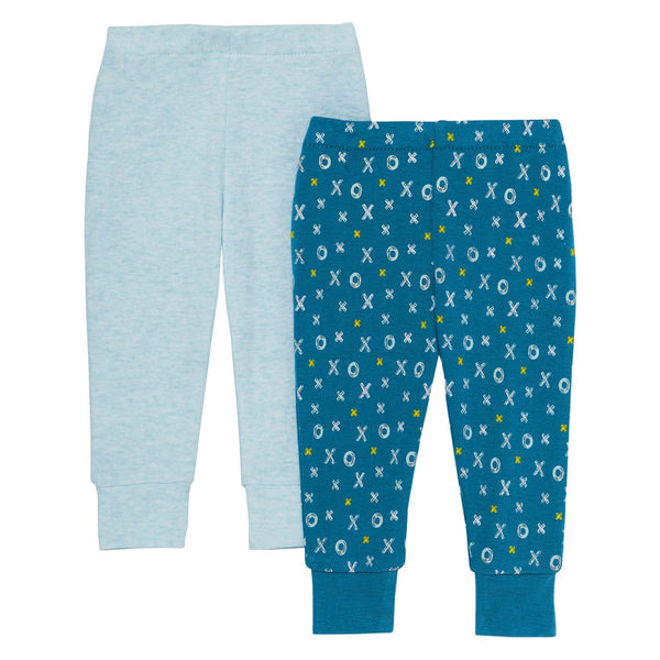 ABC-123 Baby Pants Set - Blue