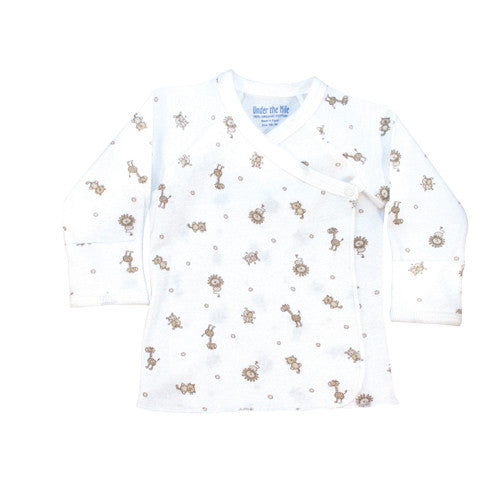Nature's Nursery Long Sleeve Side Snap T