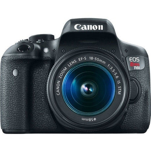 Canon EOS Rebel T6i 24.2 Megapixel Digital SLR Camera with Lens