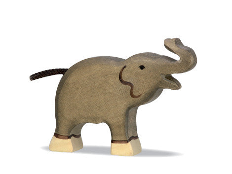 Wooden Animal  Elephant Calf