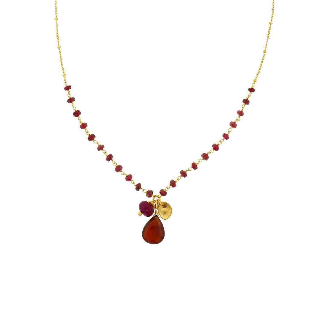 Red of Burma Necklace