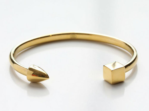 Modern Cuff in Gold, Rose Gold, & Silver