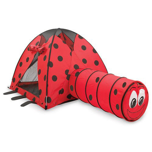 Ladybug Tent & Tunnel Combination