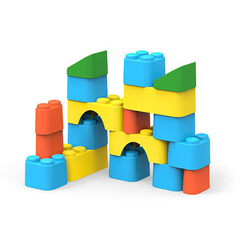 Block Set by Green Toys