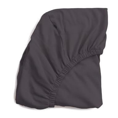 Organic Pima Cotton Crib Sheet  Charcoal