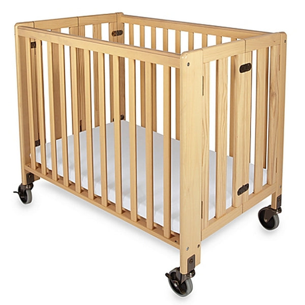 HideAway Folding Fixed-Side, Compact Crib