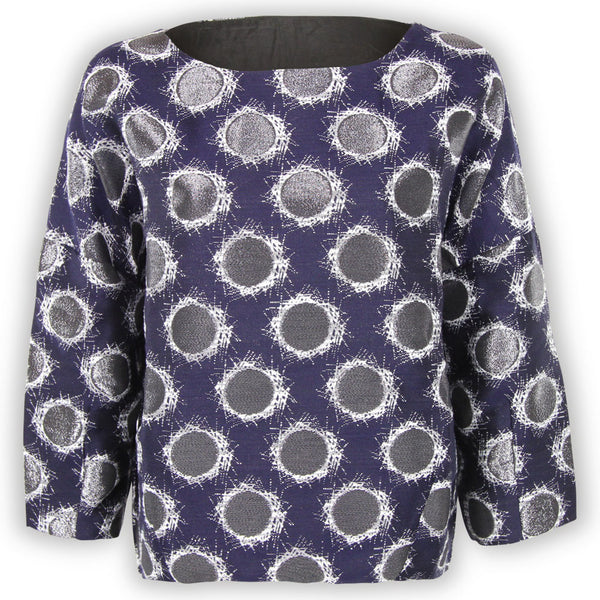 Abby Abstract Dot Top