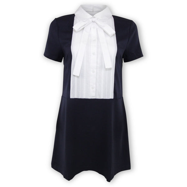 Birdie Bow-Tie Shirtdress