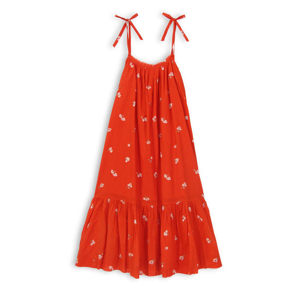 The Zoe Maxi Dress - Poppy Ditsy Floral