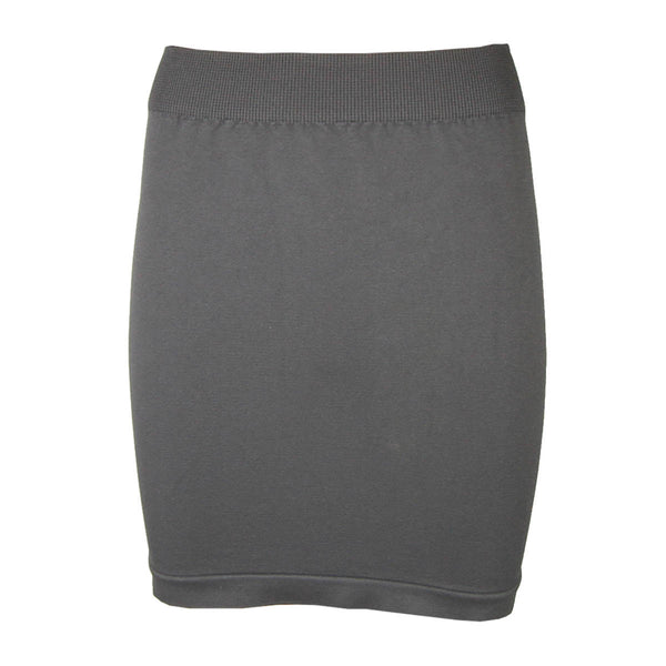 Seamless Skirt - Available in Black & Grey