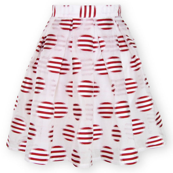 Peppermint Patty Skirt