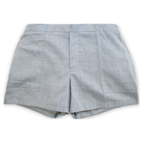 The Republic Short- Chambray
