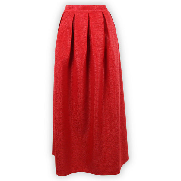 Rosie Red Maxi Skirt