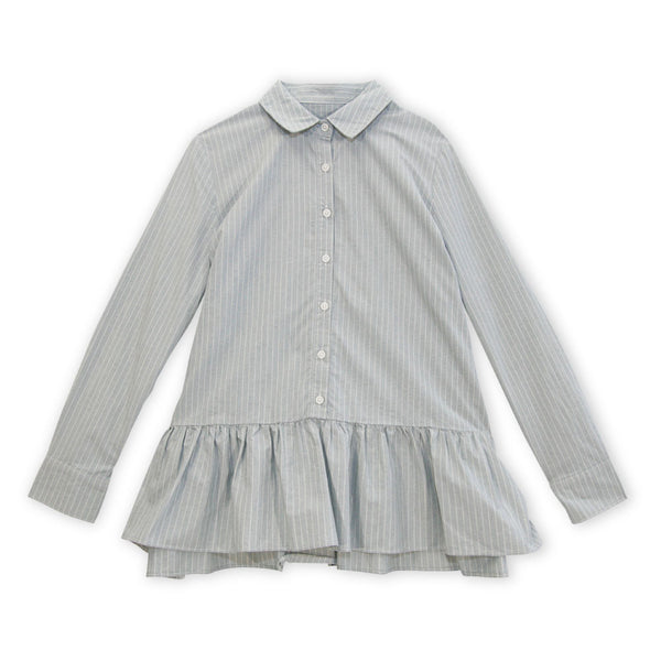 The Drop Ruffle Oxford