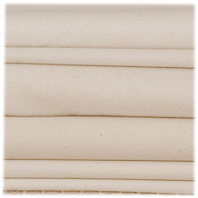 Natural Mat Organic Fitted Crib Sheet - Flannel