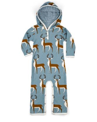 Buck Hooded Romper