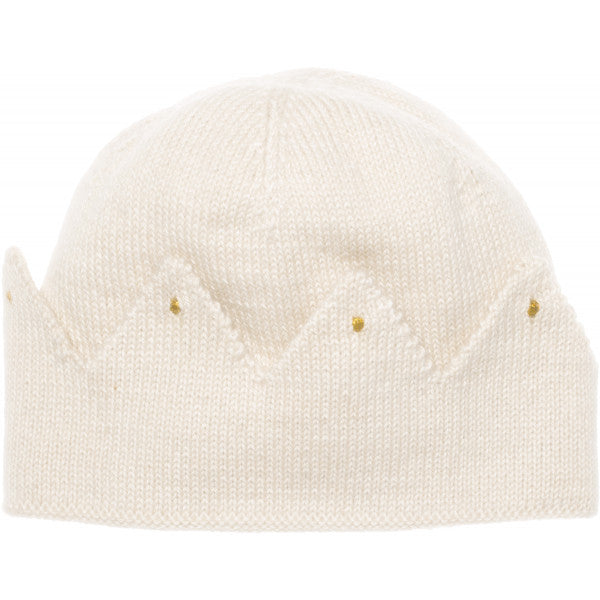 Crown Hat  Cream