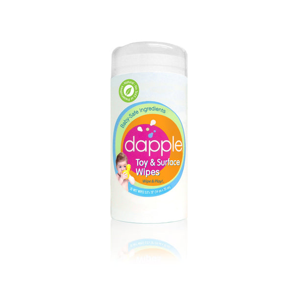 Dapple Natural Toy & Surface Cleaning Wipes  75 count