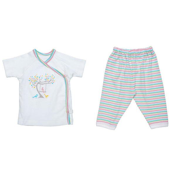 Layette Set - Baby Birds