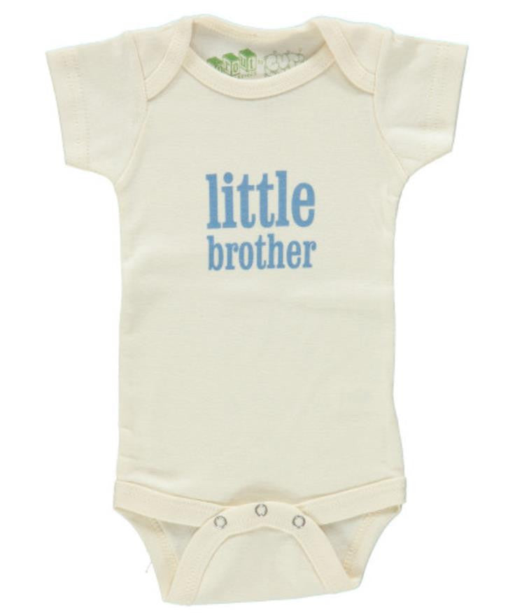 Little Brother Short Sleeve Bodysuit or Lap Tee