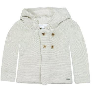 Jacket With Hood  Shell Melange