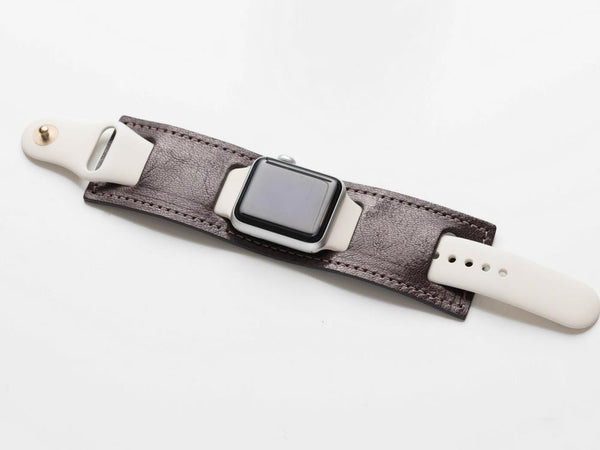 Leather Cuff for the Apple Watch