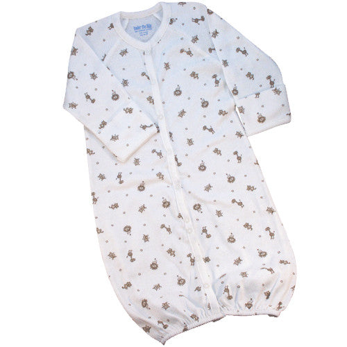 Nature's Nursery Convertible Baby Gown