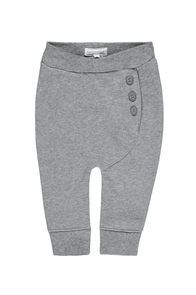 Buttoned Jogging Trouser