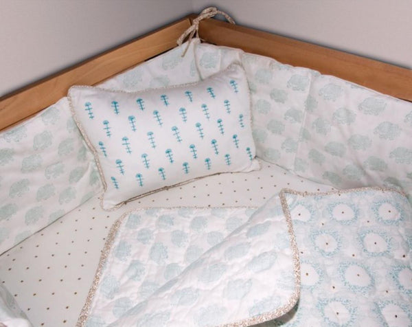 Quilted Sham for Accent Cushion