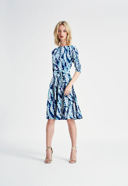 Ilana Bracelet Sleeve Dress in Willow