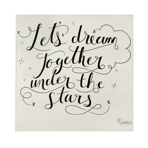 Let's Dream Together Organic Swaddle