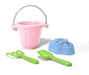 Pink Sand Play Set by Green Toys